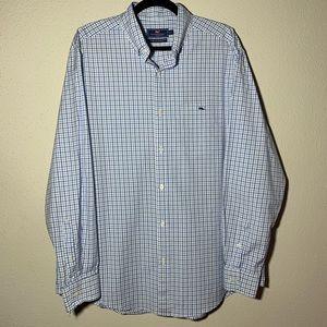 VINEYARDVINES Mens Large Tucker Shirt Longsleeve